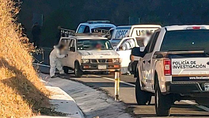 Hallan a hombre ejecutado dentro de camioneta en el municipio de Copándaro
