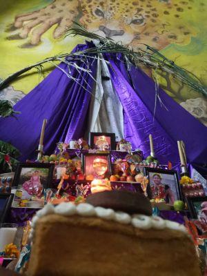 Recuerdan en altar a personas fallecidas por COVID19 en Tehuantepec