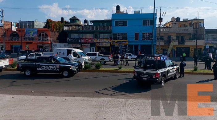Acaban con la vida de automovilista a tiros en la Avenida Madero en Morelia