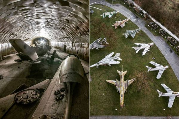 Dan a conocer una base soviética abandonada con mil tanques, aviones y helicópteros