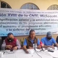 Sección XVIII del CNTE Michoacán se manifestará en FGE