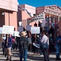 Trabajadores del Poder Judicial repudian respuesta de gobernador a la falta de pago de salarios