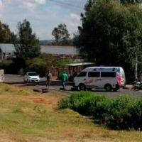 Habitantes de Pátzcuaro bloquean carreteras para exigir reductores de velocidad