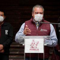 Confirma Morón nuevos brotes de covid-19 en ayuntamiento de Morelia