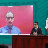 Hugo López Gatell se encuentra confinado tras haber convivido con AMLO