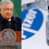 Anuncia AMLO que México recibirá menos vacunas de Pfizer para que países pobres pueden acceder a ellas(video)