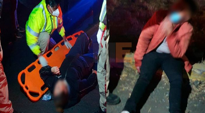 Motocicletas chocan en la Zamora-La Barca; hay dos heridos en Zamora
