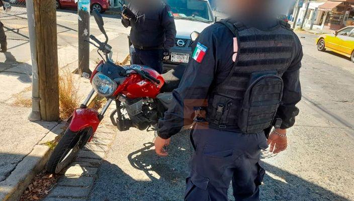 Cuentahabiente atropella a 2 asaltantes en la Av. Lázaro Cárdenas de Morelia