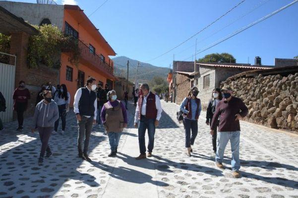 Gobierno de Morelia entrega  infraestructura urbana por 25 mdp, en Tacicuaro y col. Satélite