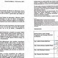 Bertha Luján pide a Morón quitar a operador del PT en Michoacán