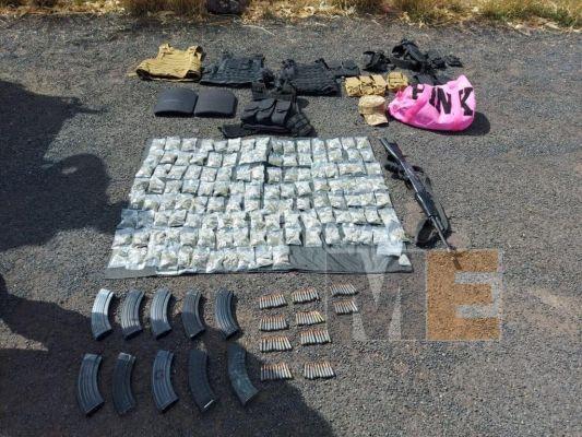 1 de cada 10 armas aseguradas por la Sedena estaban en Michoacán