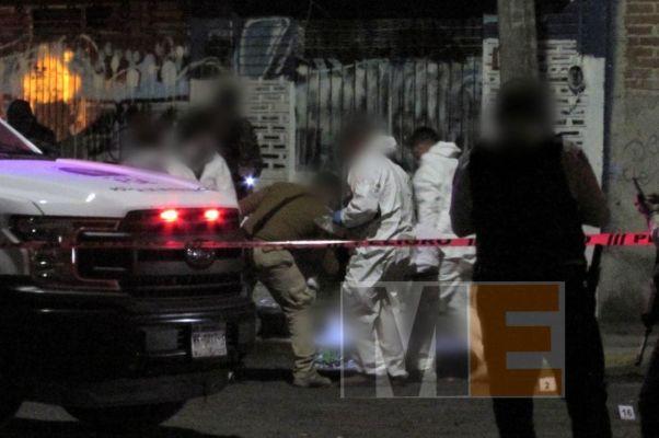 Hombre es ultimado a balazos en la colonia Eduardo Ruiz, Morelia