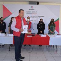Memo Valencia, único precandidato del PRI registrado para Morelia
