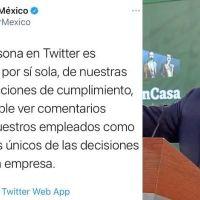 AMLO señala a Twitter México de Panista, este le contesta