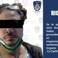 El youtuber Rix es llevado al Reclusorio Oriente tras ser vinculado al delito de violación agravada