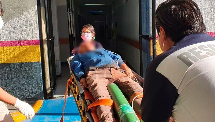 Grave joven baleado a unos metros del mercado de la colonia El Valle en Zamora