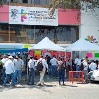 SUTICATMI inicia paro de labores y continúa toma en Junta de Conciliación