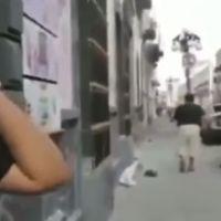 Mujer poblana llora porque le destrozaron su carro en marcha feminista (video)