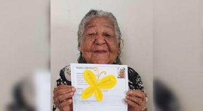 Anciana 101 años
