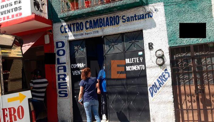 Ladrones cometen violento robo en casa de cambio en Morelia