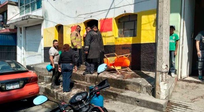 Estalla tanque de gas en tortillería de Zitácuaro, Michoacán