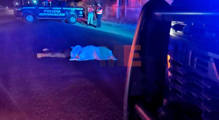 Sexagenario muere al ser atropellado en la Peribán – Los Reyes