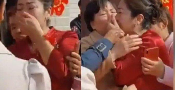 Durante boda en China, la madre del novio se enteró de que su nuera es su hija biológica