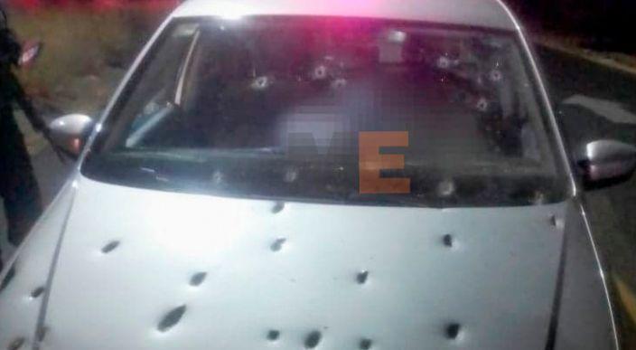 Automovilista es acribillado a balazos en la Tenencia de Jesús del Monte de Morelia, Michoacán
