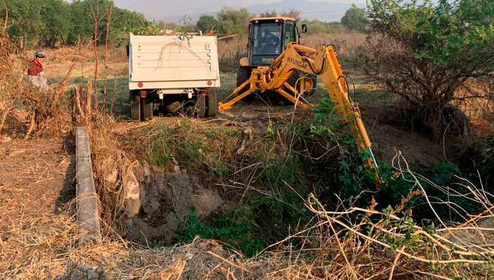 Se retiran 60 toneladas de basura del dren Arroyo Blanco en Morelia, Michoacán