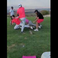 Pelea en campo de golf se hace viral (Video)