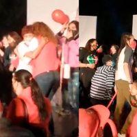 Sin miedo al covid-19; candidata del PRI, Rosy Vanegas reparte abrazos en su arranque de campaña