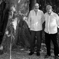 AMLO y Carlos Slim se reúnen para evaluar obras del Tren Maya