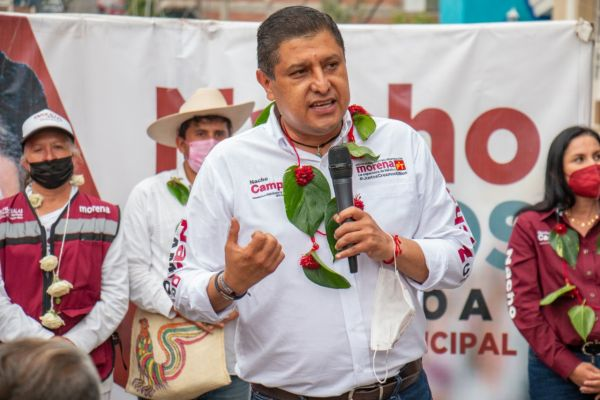 """""""Los uruapenses deseamos sentirnos en un lugar seguro para vivir"""" indicó Ignacio Campos"""