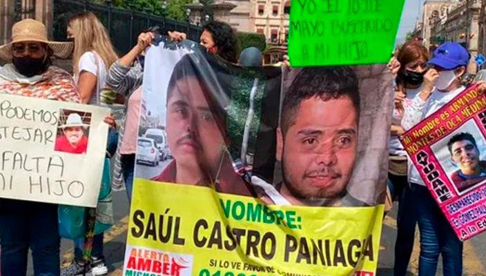 Madres no celebran 10 de mayo, buscan a sus hijos desaparecidos en Michoacán