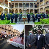 Universidad Michoacana blanco de fines electorales