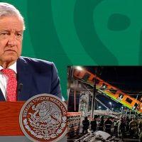 """AMLO deslinda responsabilidad política de accidente de la Línea 12 del metro """"¿quién era presidente entonces?"""" (video)"""