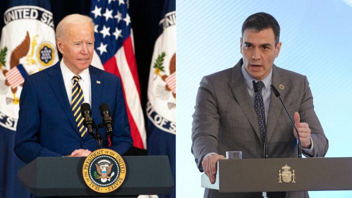 Joe Biden y Pedro Sánchez tendrán entrevista bilateral en la cumbre de la OTAN