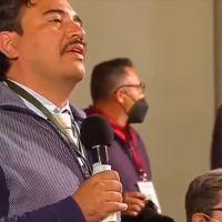 Reportero pide a AMLO construcción de Tenochtitlan en el aeropuerto de Texcoco como un Disneyland