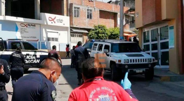 Chofer de una Hummer queda herido al ser baleado en tarímbaro, Michoacán