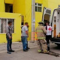 Empleado de Megacable sufre descarga eléctrica en edificio de la colonia Justo Mendoza