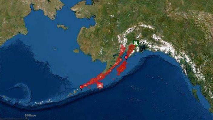 Fuerte sismo de magnitud 8,2 sacudió la costa de Alaska; fue el más fuerte en décadas según funcionario