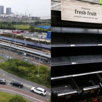 Falta de camioneros en Reino Unido ocasiona escasez de combustible y supermercados vacios (Video)
