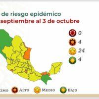 Permanece Michoacán en Semáforo Amarillo por COVID-19