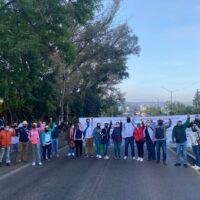 Con cierres en vialidad FESEMSS vuelve a exigir salarios
