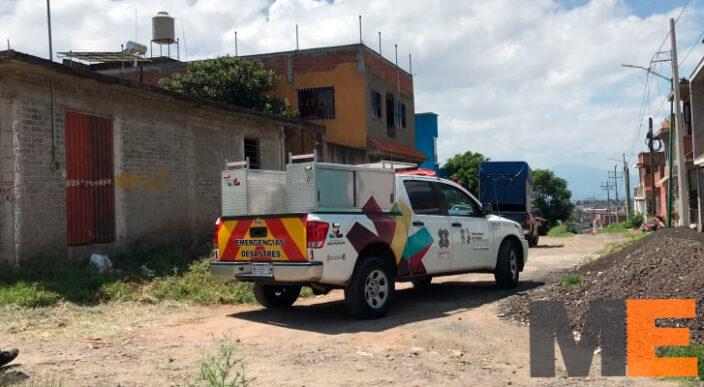 Delincuentes roban dinero y objetos en un domicilio de Morelia; amarraron a los moradores