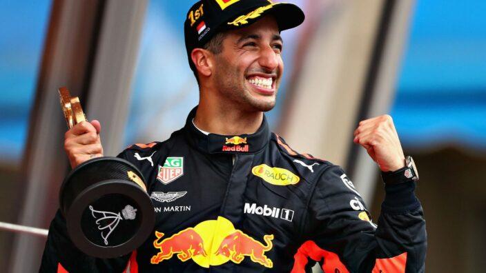 Daniel Ricciardo gana el Gran Premio de Italia;