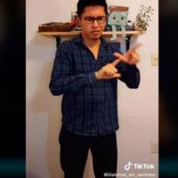 Joven explica porque el lenguaje inclusivo no aplica para el lenguaje de señas (Video)